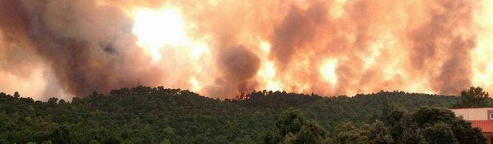 Incendio de Yeste - Foto: Paco de la Rosa