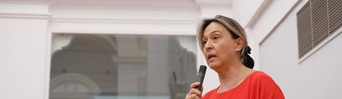 Ana Guarinos, vicepresidenta segunda de las Cortes de Castilla-La Mancha y diputada del Partido Popular por Guadalajara.