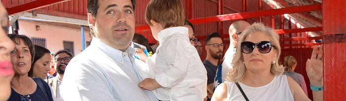 Núñez asiste en Yuncos (Toledo) a las exhibiciones del Congreso Nacional del Toro de Cuerda
