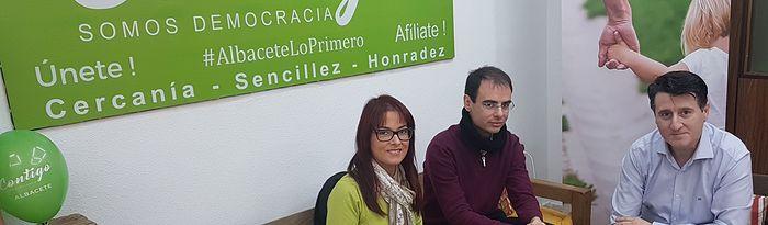 Contigo Albacete recoge las propuestas de la ONG 'En bici sin edad'