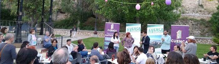 Cierre de campaña de Podemos-Equo (Cuenca, En Marcha!)