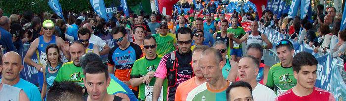 Andrés Micó y María Ángeles Magán vencieron en la XX Media Maratón de Almansa
