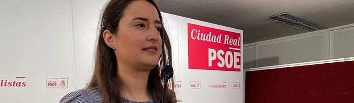 Cristina López Zamora, portavoz de la ejecutiva local socialista.
