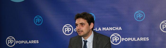 Santiago Serrano, vicesecretario de Comunicación del PP de Castilla-La Mancha.