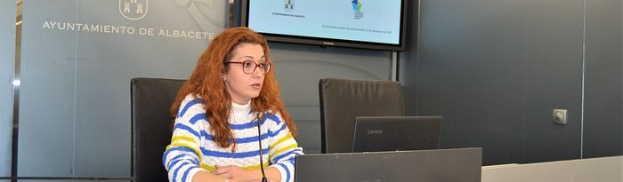 Juani García, concejala de Atención a las Personas.