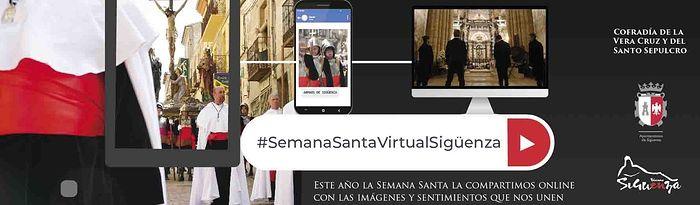 Sigüenza celebra su Semana Santa virtual con un programa elaborado por la Cofradía de la Vera Cruz