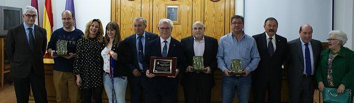 Rosa González de la Aleja y Alberto Reina participan en la entrega de premios de la Asociación Cultural Amigos de la Semana Santa de Albacete