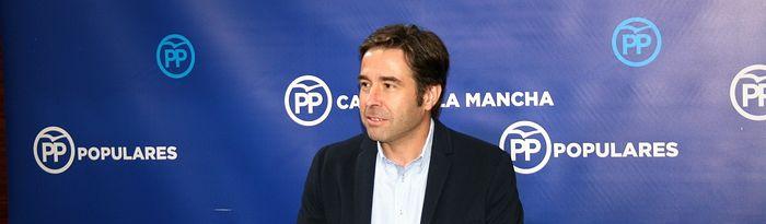 Lorenzo Robisco, portavoz adjunto GPP en las Cortes.