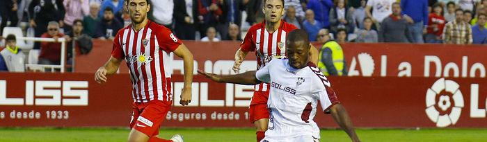 Albacete Balompié - UD Almería (1-1). Foto: Josema Moreno