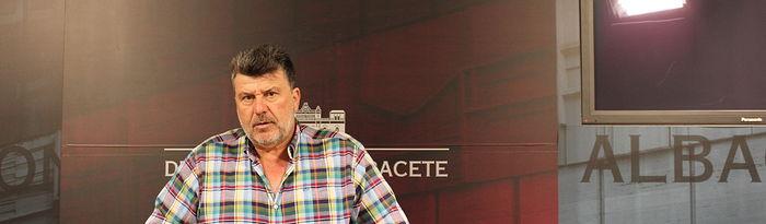 Antonio Serrano, portavoz del Grupo Popular en Diputación Albacete