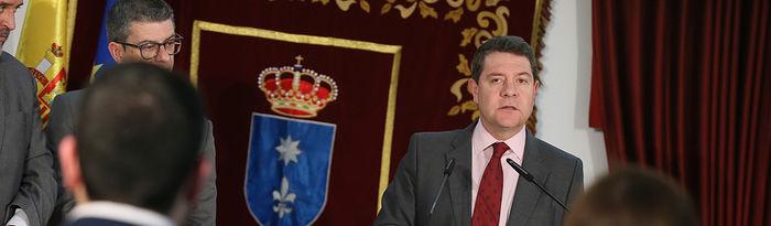 El presidente de Castilla-La Mancha, Emiliano García-Page, preside, en el Ayuntamiento de Motilla del Palancar, un nuevo Consejo de Gobierno de carácter itinerante. (Fotos: Ignacio López // JCCM)