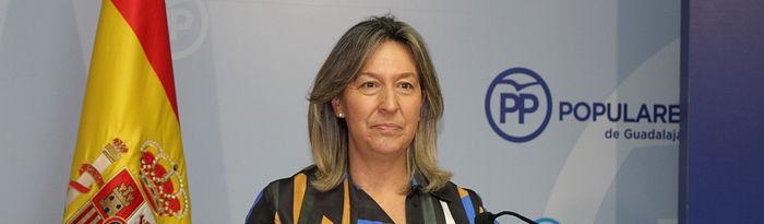 Ana Guarinos, presidenta del Partido Popular en Guadalajara y vicepresidenta segunda de las Cortes.