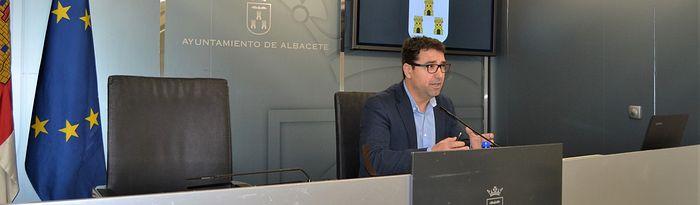 Modesto Belinchón, concejal de Deporte.
