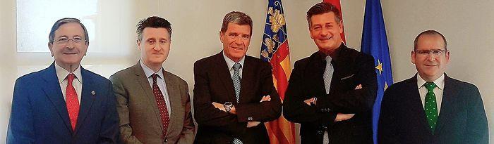 Contigo Albacete se reúne con la Autoridad Portuaria de Valencia