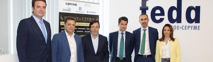 Inauguración encuentro de inversión 'Invest in Cities'.