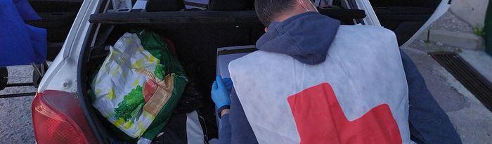 Cruz Roja en la provincia de Toledo frente COVID-19 .