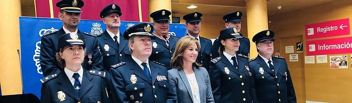 194 Aniversario de la creación de la Policía Nacional celebrado en Cuenca.