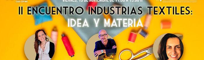II Encuentro de Industrias Textiles.