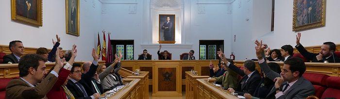 Pleno Ayuntamiento de Toledo.