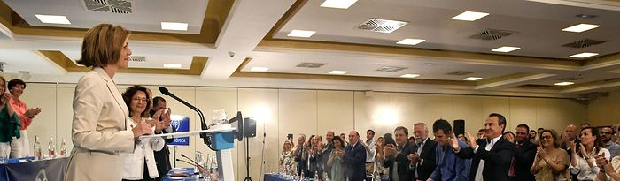 Cospedal preside la Junta Directiva Regional del PP de Castilla-La Mancha. 19-6-18