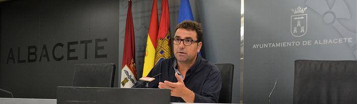 El portavoz del Grupo Municipal Socialista en el Ayuntamiento de Albacete, Modesto Belinchón