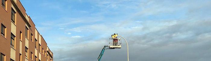 86 nuevas luminarias Led Ayuntamiento Alcázar de San Juan