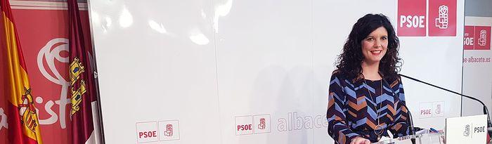 Josefina Navarrete, diputada regional del PSOE por Albacete y Secretaria Primera de la Mesa de las Cortes de C-LM.