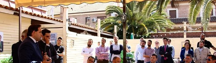Encuentro empresarial en Talavera de la Reina.