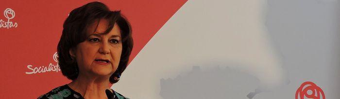 Matilde Valentín, senadora.