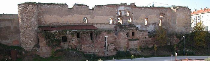 Alcázar Real de Guadalajara. Foto: www.castillosdeguadalajara.es