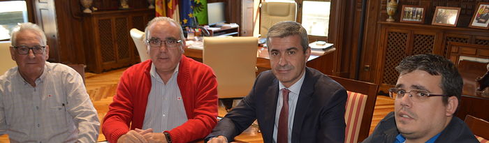 Reunión Diputación de Toledo- Ayuntamiento de Ocaña.