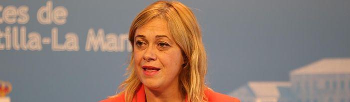 Carmen Picazo, portavoz del grupo de Ciudadanos en las Cortes de Castilla-La Mancha.