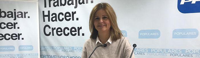Cortes Valentín, diputada regional. Foto: PP Ciudad Real.