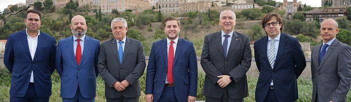 Reunión del consejero de Fomento con la Federación de Empresarios del Transportes de Castilla-La Mancha