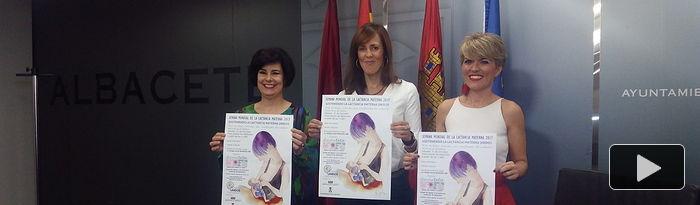 Presentación las actividades de la Semana Mundial de la Lactancia Materna.