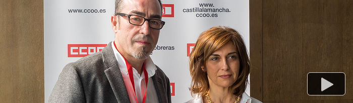 Francisco de la Rosa y Carmen Juste