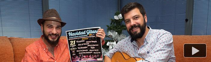 """Jairo Fernández de la Rosa y Javier de Esperanza, participantes del espectáculo \""""Navidad Gitana\"""""""