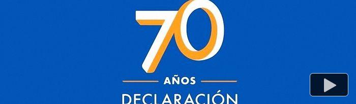 Declaración Universal de los Derechos Humanos - 1948-2018 - 70 años