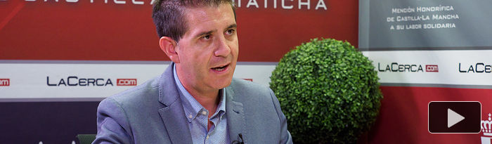 Santiago Cabañero, presidente de la Diputación Provincial de Albacete. Foto: Manuel Lozano García / La Cerca