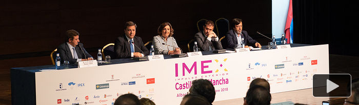 Inauguración Feria IMEX en Albacete