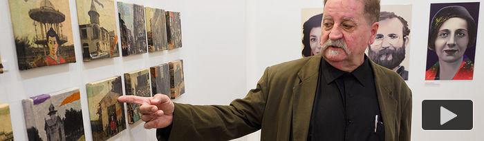 """Exposición de Ricardo Evendaño """"Inside Avendaño"""" en la librería Popular de Albacete. Foto: Manuel Lozano Garcia / La Cerca"""