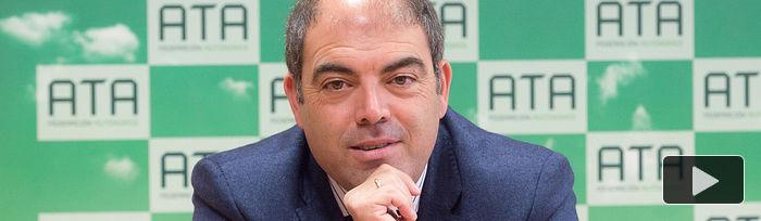 Lorenzo Amor, presidente de ATA. Foto: @GUILLERMO LOPEZ