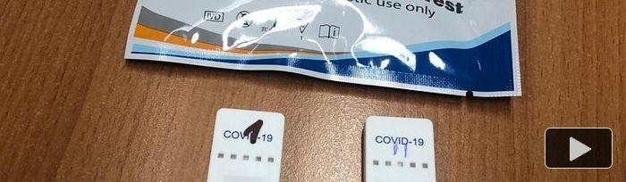 Test rápidos coronavirus.