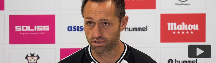 José Manuel Aira, entrenador del Albacete Balompié