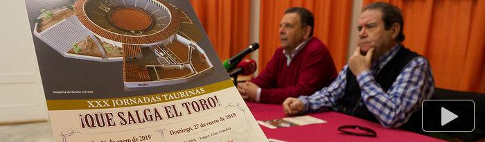 Presentación XXX Jornadas Taurinas de Tarazona de la Mancha