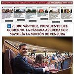 Portada LaCerca Pedro Sánchez - Presidente del Gobierno un año.