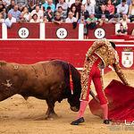 Feria taurina Albacete - Andrés Palacios - Su segundo toro.