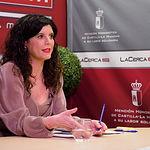 Josefina Navarrete, vicepresidenta de las Cortes de Castilla-La Mancha. Foto: Manuel Lozano García / La Cerca