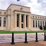 Edificio de la Reserva Federal americana (Banco central) en Estados Unidos.