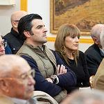 """Charla de Chapu Apaolaza, portavoz de la Fundación Toro de Lidia, con el nombre """"Defensa del toro como defensa de la sociedad"""", en el Casino Primitivo de Albacete"""